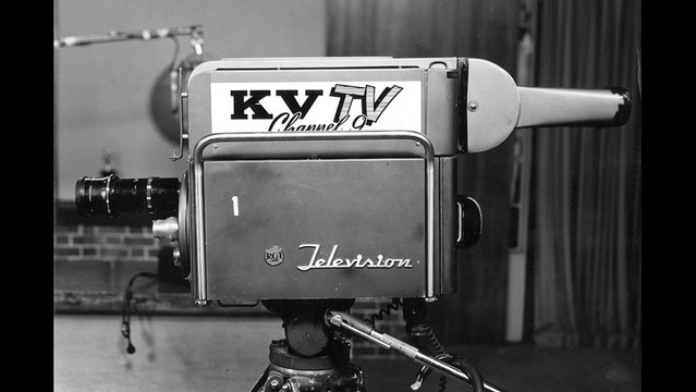 KCAU9 First Television Station in Sioux City, Iowa