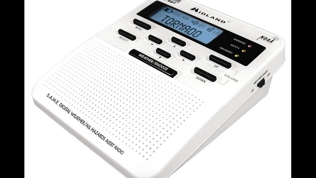 Midland Weather Radio WR-100 Features