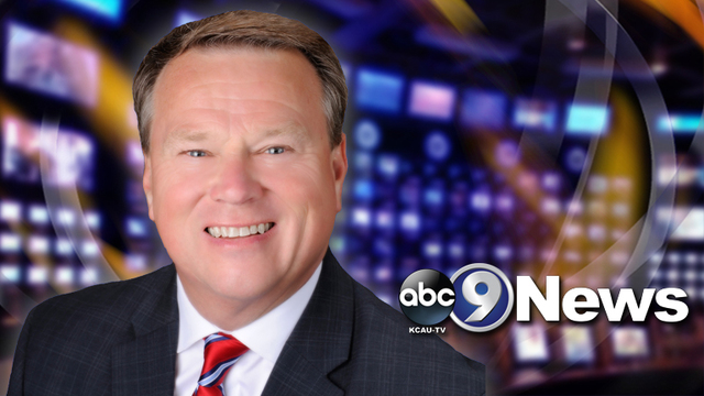 KCAU9 News Anchor Tim Seaman