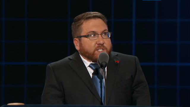 South Sioux City's Ryan Moore addresses Democratic National Convention