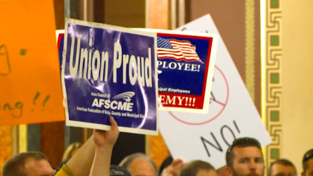 AFSCME files lawsuit against state, calling new collective bargaining law unconstitutional