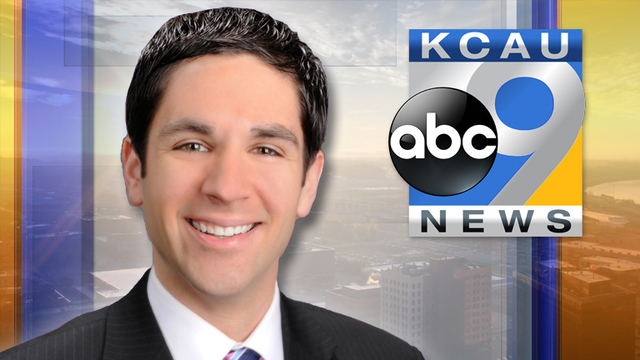 KCAU9 News Sports Director Chris Palmquist