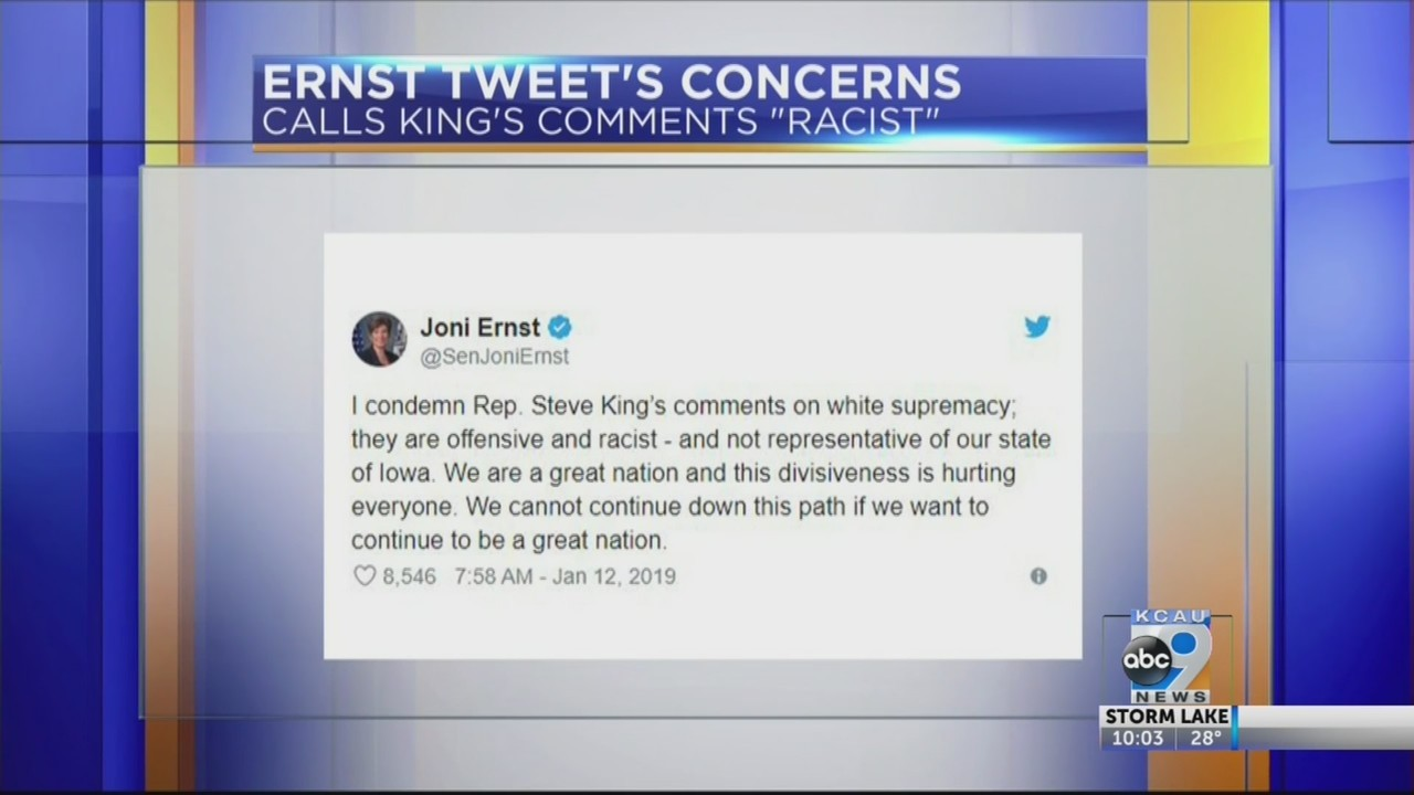 Congressman Steve King addresses supremacist controversy