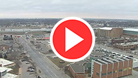 Downtown Sky Cam above the Ho Chunk Center