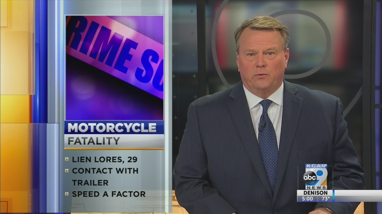 Motorcycle Accident Claims Life Of Storm Lake Man