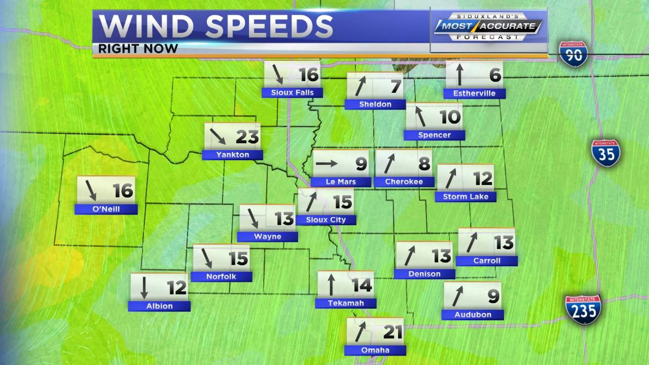 Wind Speeds