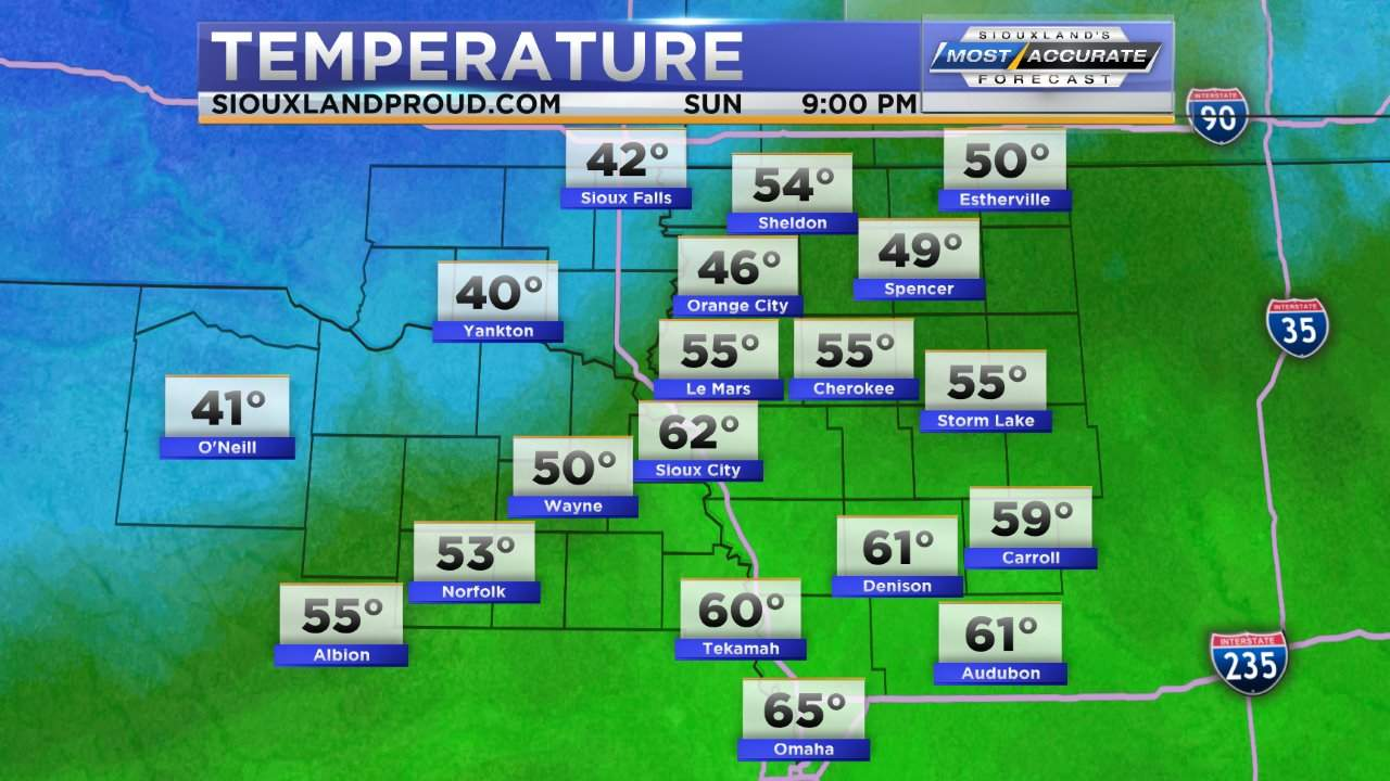 Weather | SiouxlandProud | Sioux City, IA | News, Weather, and Sports